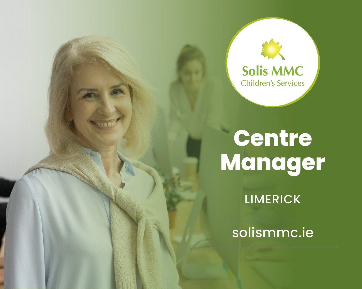 Social Care manager job in Limerick
